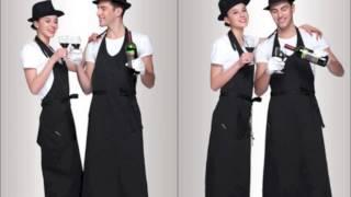 Смотреть видео фартук официанта