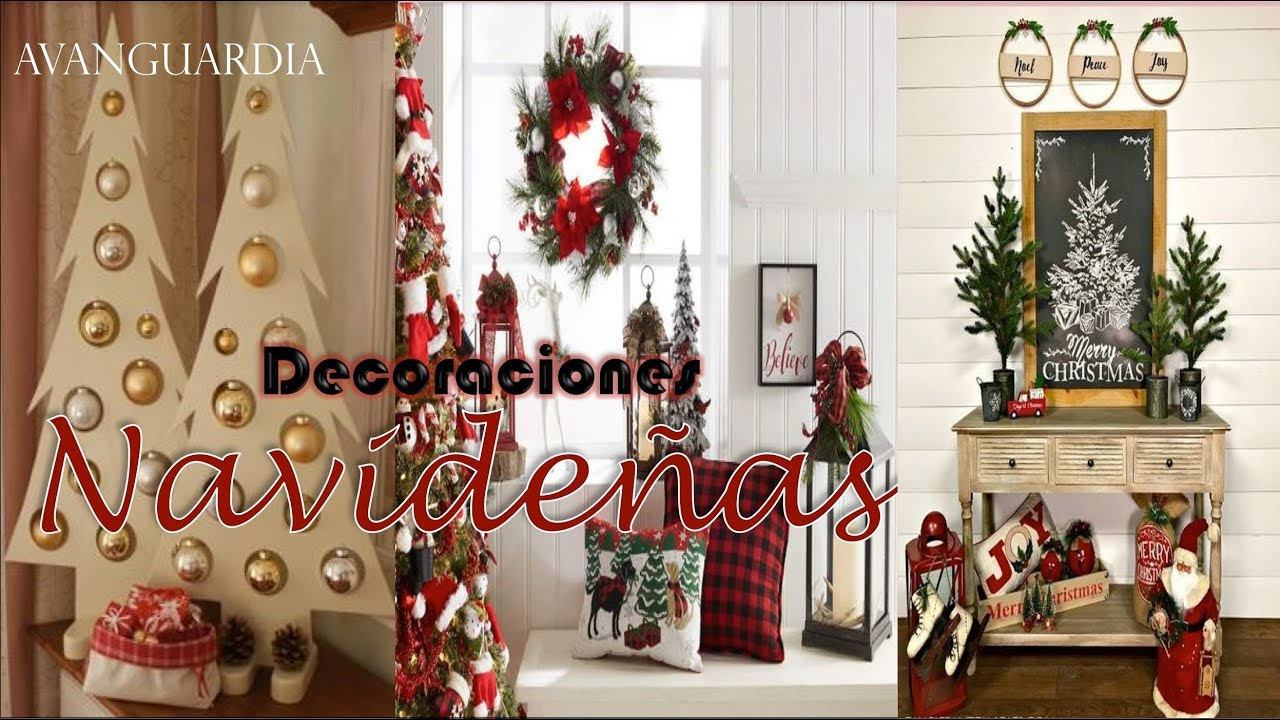Hermosas decoraciones navide as 2018 tendencias de for Adornos navidenos ultimas tendencias