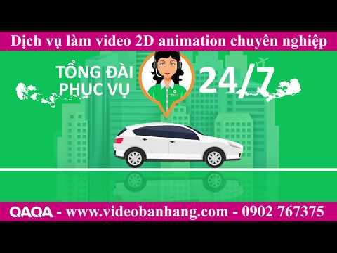 Dịch vụ làm video 2d hoạt hình chuyên nghiệp - Video DEMO