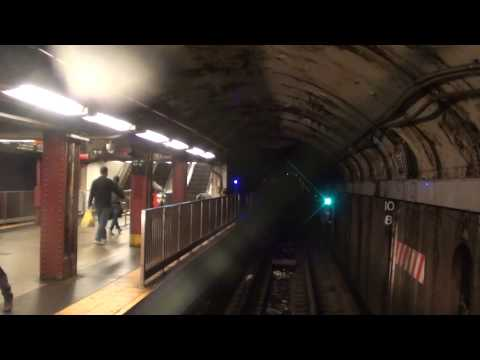 IND Queens Blvd/Sixth Avenue Line: R1/9 M Train From Queens Plaza to 34th Street-Herald Square