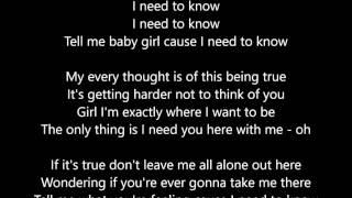 Marc Anthony - I Need To Know - Lyrics Scrolling