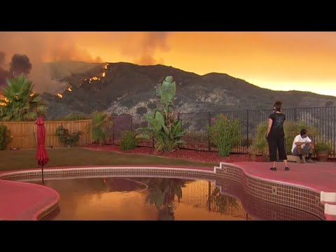 California's Holy Fire threatens thousands of homes
