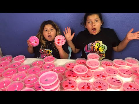 Download Youtube: DIY SLIME VALENTINES FOR SCHOOL - MAKING 2 GALLONS OF FLUFFY SLIME FOR SCHOOL