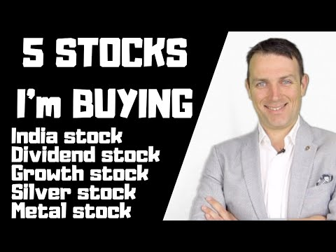 5 Stocks I'm Buying Now! July 2019
