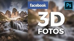 Facebook 3D-Fotos in Photoshop erstellen!