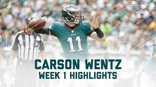 Every Carson Wentz Completion| Browns vs. Eagles | NFL Week 1 Player Highlights