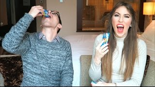 Trying weird Chinese candy challenge in CHINA !!!!