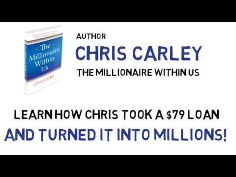 Author Chris Carley  The Millionaire Within Us