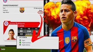 JEDES TRANSFERANGEBOT MIT DEM FC BAYERN AKZEPTIEREN!!! 😱😱 | FIFA 17: FC BAYERN KARRIERE CHALLENGE