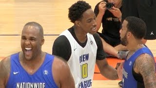 Swaggy P & Demar Derozan Don't Stand a Chance against BIG BABY DAVIS