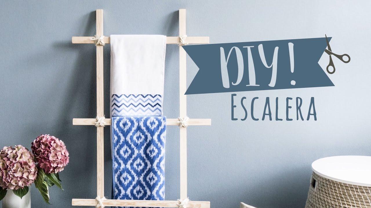 haz tu propia escalera decorativa para casa diy westwing