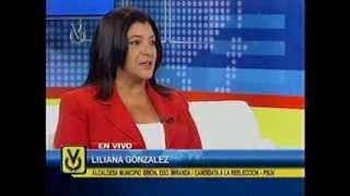 Entrevista Venevisión: Liliana González, alcaldesa municipio Brión
