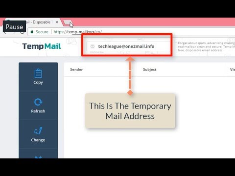 Bypass The Email Code Verifications  Temp Mail