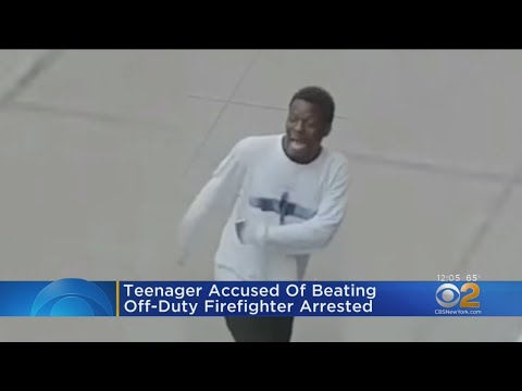 teenager-accused-of-beating-off-duty-firefighter-arrested