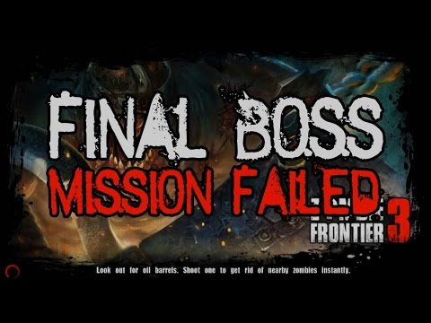 Zombie Frontier 3 | Final Boss - Mission Failed - Big Boss Never Fall | Gameplay#6