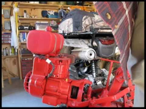 Troy Bilt Pto Horse Iii Belt Change Youtube