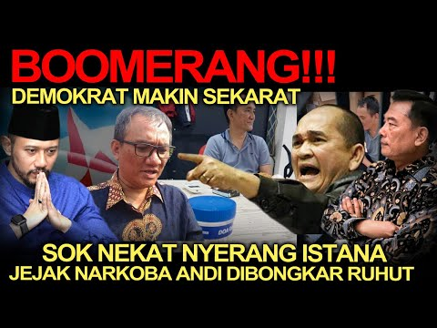 Politik Terkini❗️Boomerang! Sok Nekat Nyerang Istana, Jejak N4rkoba Andi Arief Dibongkar Ruhut!