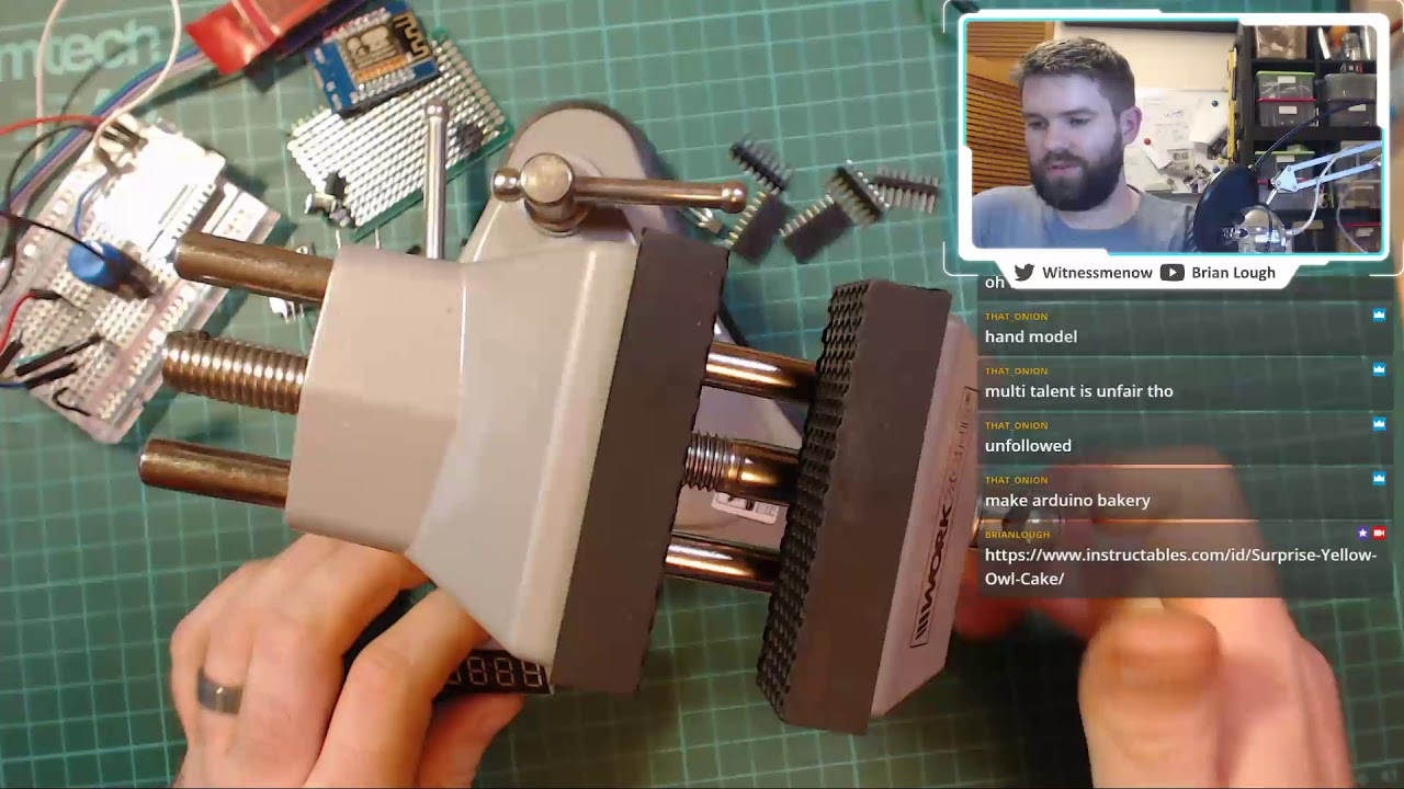 Maker Monday - Soldering up a WiFi Alarm Clock Prototype