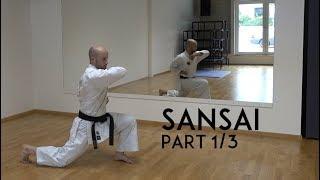 SANSAI part 1/3 - genseiryu kata explanation - TEAM KI
