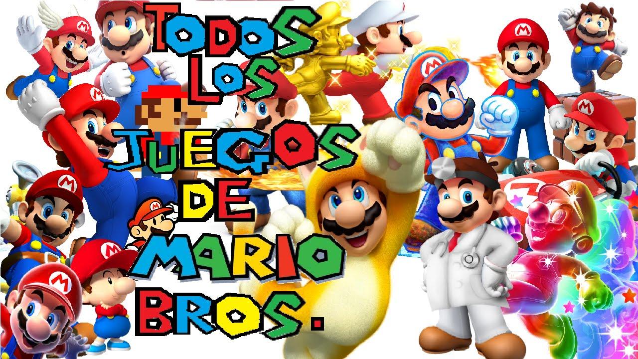 Todos Los Juegos De Mario Bros (1981-2014)
