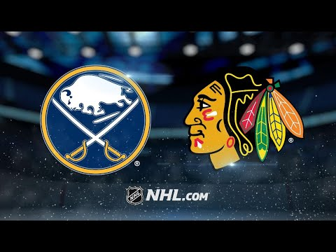 Forsling, Blackhawks rally to top Sabres in OT, 3-2