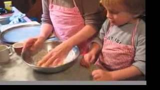 Liam & Nana Making Cookies