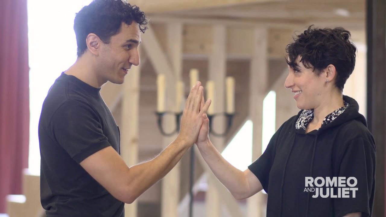 SNEAK PEEK: Inside Rehearsal with Romeo & Juliet | Stratford Festival On Film