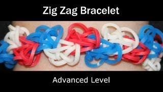 Rainbow Loom® Zig Zag Bracelet