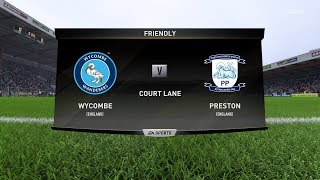 Wycombe vs Preston | England FA Cup | 06 January 2018 | FIFA 2018