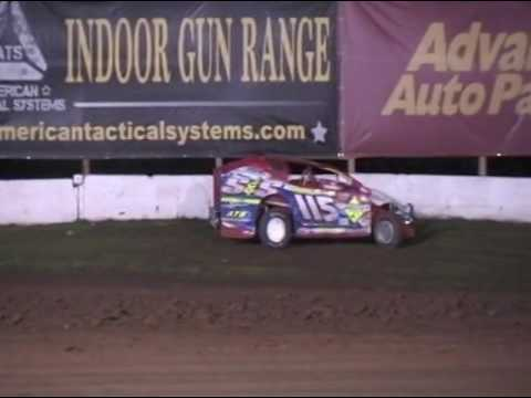 Albany-Saratoga Speedway June 16th, 2017 Modified Highlights