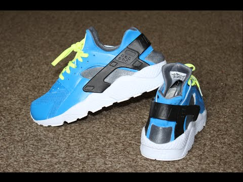 "Custom Huaraches ""Blue Dream"""