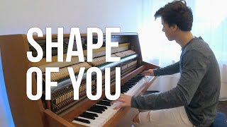 Ed Sheeran Shape of You Piano cover Peter Buka