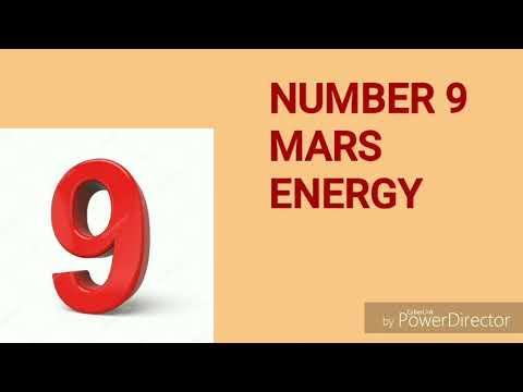 NUMBER 9 MARS ENERGY