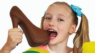 Chocolate y verdadero desafío con Polina