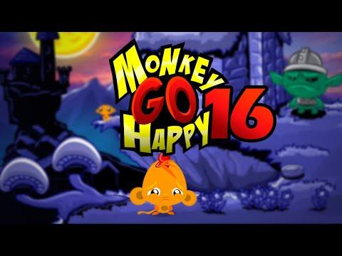 """Игра """"Счастливая Обезьянка 16"""" (Monkey GO Happy 16) - прохождение"""