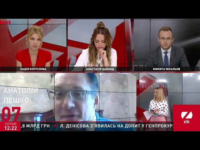 Анатолий Пешко. Повышение тарифов на газ, воду, электроэнергию
