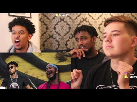 Post Malone - Rockstar ft. 21 Savage - REACTION #Instinct