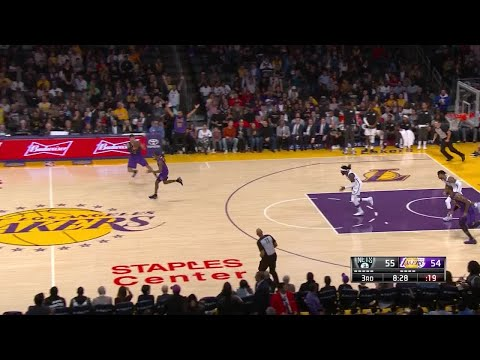 3rd Quarter, One Box Video: Los Angeles Lakers vs. Brooklyn Nets
