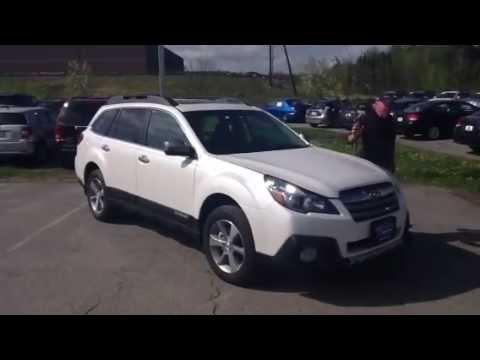 New 2013 Subaru Outback 36r Limited Twin City Subaru Vermont