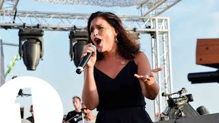 Jessie Ware live at Café Mambo for Radio 1 in Ibiza 2017