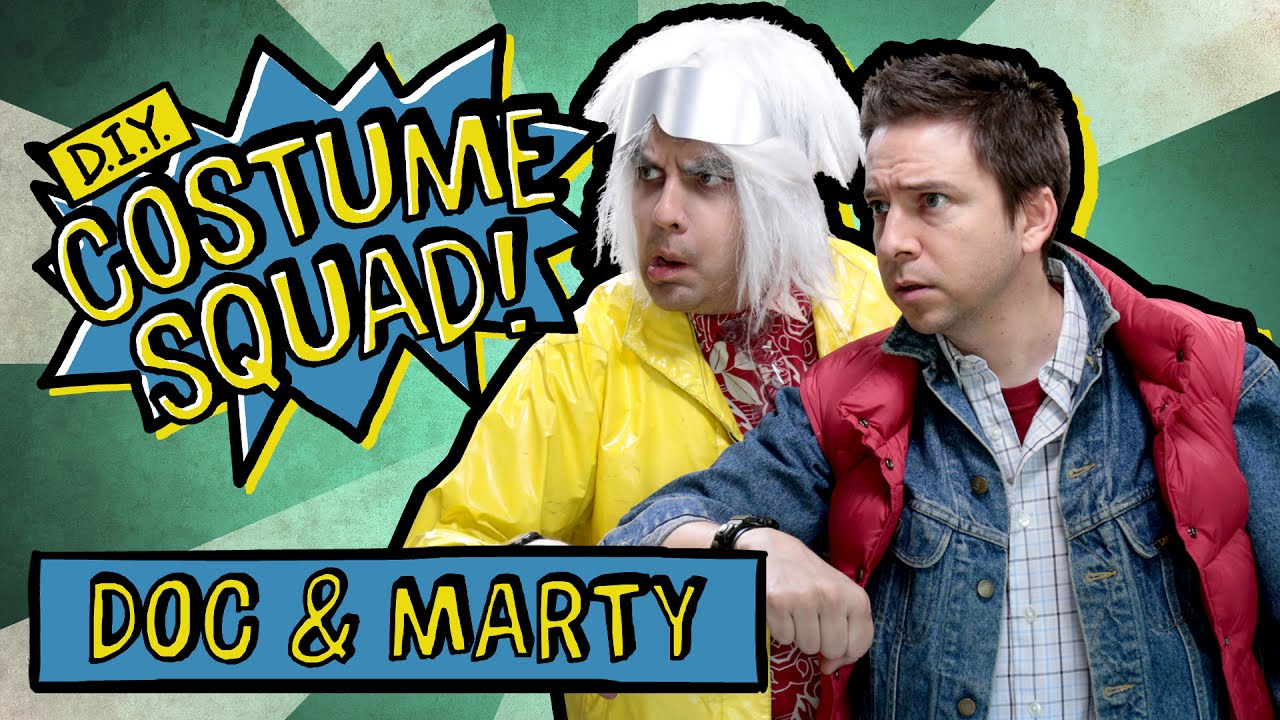 Make Your Own Doc Marty Costumes Diy Costume Squad