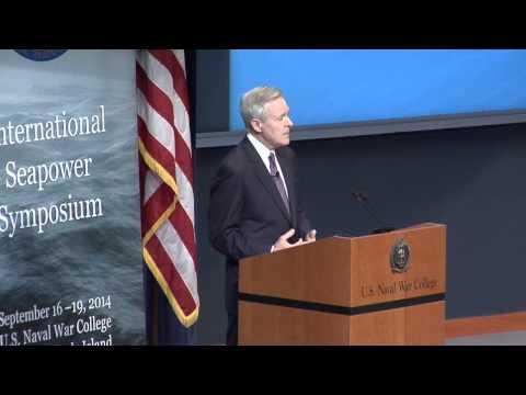 DEPSECDEF, SECNAV and CNO speak at International Sea Power Symposium