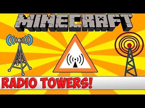 Minecraft Bukkit Plugin - Radio Towers - Tutorial