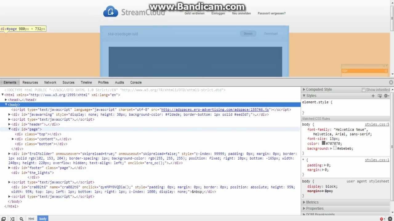 Download Von Streamcloud