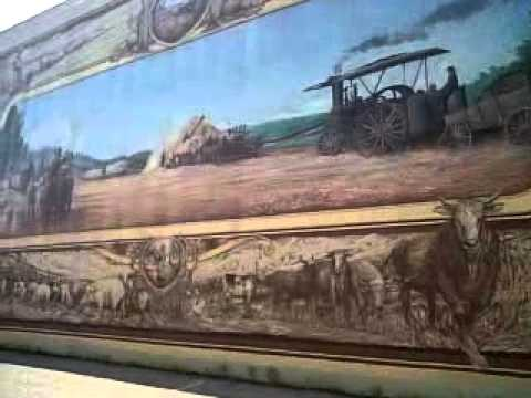 portsmouth ohio floodwall murals youtube. Black Bedroom Furniture Sets. Home Design Ideas