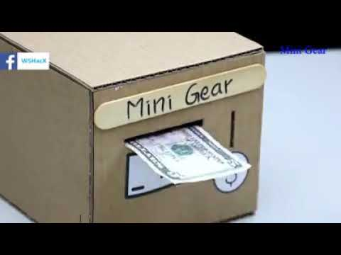 How to Make Smart Personal Bank Saving |Coin and Cash|