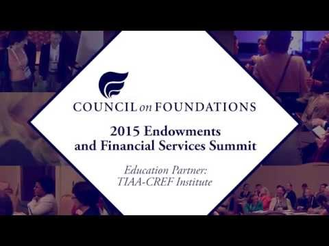 Join us for the 2015 Endowment and Financial Services Summit