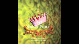 Orff – Carmina Burana – 24. Ave formosissima / UCSB Chamber Choir