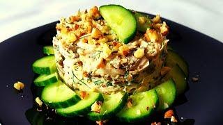 Этот салат исчезает со стола в считанные минуты! Любителям морепродуктов!