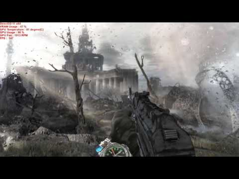 Metro Last Light Redux I5 6600K MSI GeForce GTX 980 Ti GAMIN